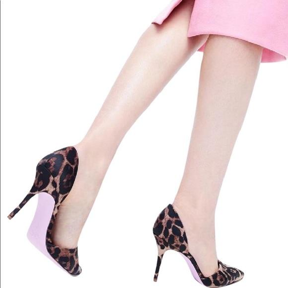 57f36461db J. Crew Shoes | Jcrew Elsie Dorsay Pumps In Leopard Satin | Poshmark